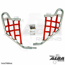 TRX 700XX  Honda   Nerf Bars  Alba Racing      Silver bar Blue nets 233 T1 SR