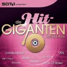 DIE HIT GIGANTEN -HITS DER 90ER 2 CD MIT SNAP UVM NEU