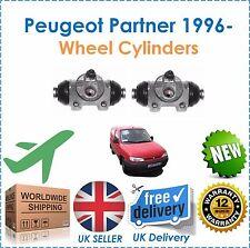 Fits peugeot partner van combo mpv 1996 - 2 roue arrière cylindres new oe qualité!