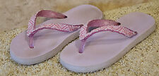Womens Sandals - Flip Flops - Size 7 - OLD NAVY -  Purple with Beads