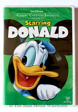 Starring Donald Duck Classic Cartoon Favorites Volume Two Disney Cartoons on DVD