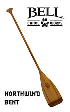 """Northwind Bent Canoe Paddle 54"""" Made In USA by Mtchell Paddles Lt. Weight 20 oz"""