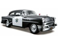 BUICK CENTURY 1955 POLICE 1:24 scale diecast model die cast cars models metal