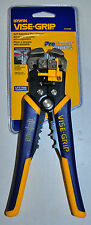 IRWIN VISE GRIP Self-Adjusting Wire Stripper,Cable cutter ,wire Crimper IRWIN
