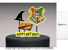 Coco&Bo 1 x Hogwarts School Happy Birthday Cake Topper Harry Potter Party