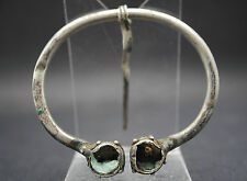 VIKING SILVER 'ANNULAR' TYPE FIBULA BROOCH 10TH CENTURY AD