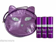 Purr by Katy Perry 15ml x 3 EDP womens trave set with Purse gift set New