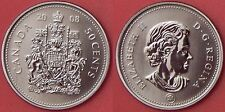 Specimen 2008 Canada 50 Cents From Mint's Set