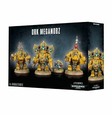 Warhammer 40K Orks Ork Meganobz NEW