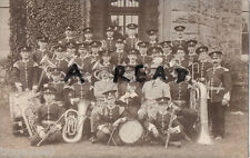 Soldier Group Regimental Band 5th Battalion Welsh Regiment in full dress