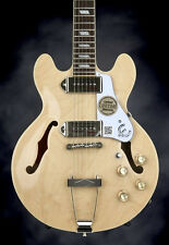 Epiphone Casino Coupe - Natural Hollowbody Electric Guitar with Maple Top