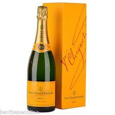 6 Bt Champagne Veuve Clicquot 0,75 lt. con Astuccio