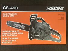 """Echo CS490-20 Chainsaw 50.2 CC with 20"""" Bar and Chain, Automatic Oiler"""