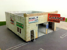"Z Scale Building - ""Midtown Garage"" Card Stock Kit (Paper Kit)"