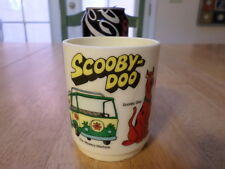 DEKA PLASTIC CUP, SCOOBY-DO CARTOON TV SERIES, Plastic Souvenir Cup,Vintage 1978