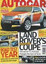AUTOCAR MAGAZINE 20/27 DECEMBER 2006 LAND ROVER'S INCREDIBLE COUPE  LS