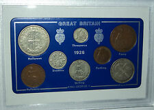 1928 GB Great Britain British Vintage Coin Set (88th Birthday Gift Birth Year)
