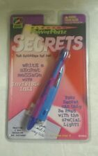 Yes Gear Power Penz SECRETS Invisible Ink Spy Pen Secret Messages New Sealed
