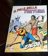 ZAGOR scritta rossa nr. 135  Lire 700 il palo della tortura *ottime condizioni*
