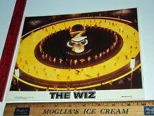 Rare Original VTG Diana Ross Michael Jackson Lena Horne The Wiz Lobby Card Photo