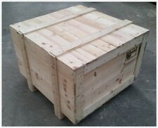 Wooden Shipping Crates - Export Packing Cases / Boxes - 50 x 50 x 50 cm - ISPM15