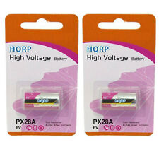 2x HQRP Battery for Fujica ST801 / ST901 / AX-3