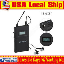 1x Takstar WPM-200 Receiver Wireless Monitor Audio  In-Ear Stereo 780-789MHz US!