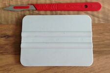 VINILE Application DIY Tool Kit-Squeegee & BISTURI-segni decalcomanie Set di raccordo