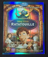 DISNEY - PIXAR RATATOUILLE BLU RAY WITH RARE OOP SLIPCOVER FREE SHIPPING