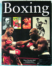 BOXING ILLUSTRATED HISTORY OF FIGHT GAME Peter Brooke-Ball RARE 500 Pics Hermes