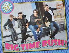 BIG TIME RUSH - A2 Poster (XL - 40 x 52 cm) - Fan Sammlung Clippings Ausland USA