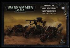 Warhammer 40K Ork Warbiker Mob New and Sealed