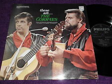 """THE CORRIES  """"  THESE ARE THE CORRIES """"1968 UK LP  PHILIPS  6382 025"""