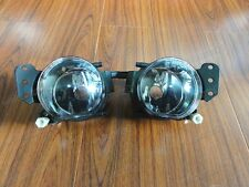 1Pair Clear Fog Lamps Driving Lights For BMW E60 5 Series 2004-2008