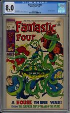 Fantastic Four #88 (Marvel, 1969) CGC 8.0 Mole Man Appearance Off-White Pages