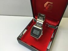 MINT NOS  - Citizen Crystron LC Digital Quartz Watch LCD with box uhr MOT