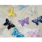 1pcs Embroidery Butterfly Sew Iron On Patch Badge Embroidered Fabric Applique AT