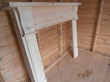 Ashley wooden fire place / surround solid pine new made to measure  BESPOKE