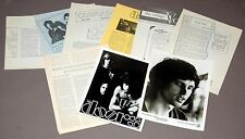 1967 THE DOORS Jim Morrison 12pc Vintage Promo Photo Press Kit Lot Elektra