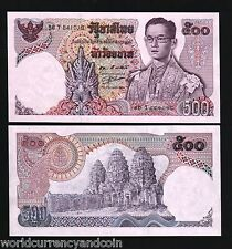 THAILAND 500 BAHT P86 1975 KING RAMA IX UNC THAI CURRENCY MONEY BILL BANK NOTE