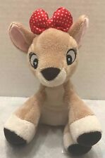 """Kids Preferred Rudolph The Red Nosed Reindeer Clarice Plush 6"""" Stuffed Christmas"""