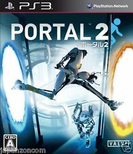 Used PS3 Portal 2   SONY PLAYSTATION 3 JAPAN JAPANESE IMPORT