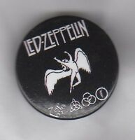 LED ZEPPELIN - SYMBOLS - BUTTON BADGE - ENGLISH ROCK BAND - ROBERT PLANT 25mm