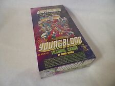 1992 Youngblood Comic Book Trading Cards Unopened Pack Box Comic Images NS106