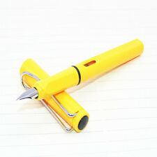 High quality YIREN 566 Yellow colour practise calligraphy Fountain Pen New