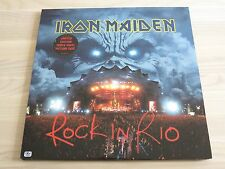 IRON MAIDEN 3 PICTURE LP - ROCK IN RIO / 2002 EMI PRESS in MINT