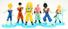 Dragonball Z Dragon Ball Action Figures Anime Manga 6 Figure Set New Goku Buu