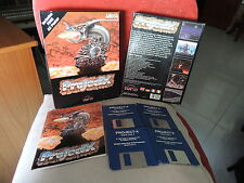 PROJECT X TEAM 17 SOFTWARE LTD 1992 COMMODORE AMIGA 1 MEGA BIGBOX CARDBOARD