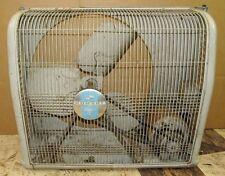 """Vintage SEARS HOMART 480-93055 18"""" Blade 22 x 37 Window Fan J00525"""