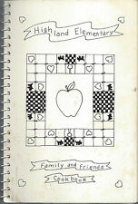 *APPLE VALLEY MN 1992 HIGHLAND ELEMENTARY SCHOOL COOK BOOK *FAMILY & FRIENDS